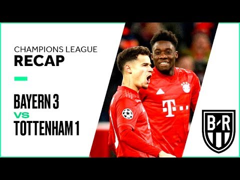 Bayern Munich 3-1 Tottenham Hotspur: Champions League Recap with Goals, Highlights and Best Moments