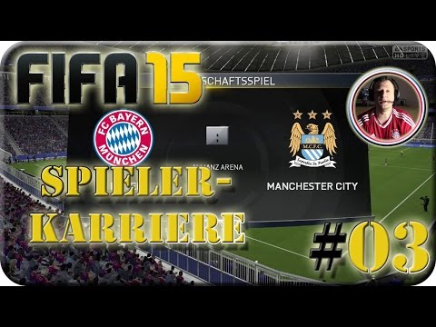 FC Bayern München VS Manchester City (Lets Play #03) Spielerkarriere
