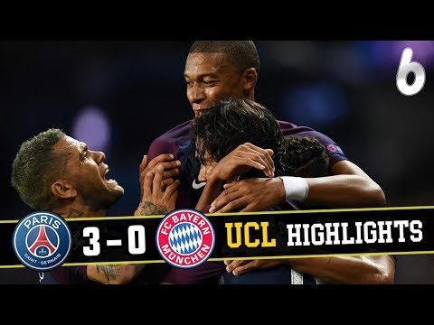 PSG vs bayern munich Goals & Extended Highlights English Commentary [720p]