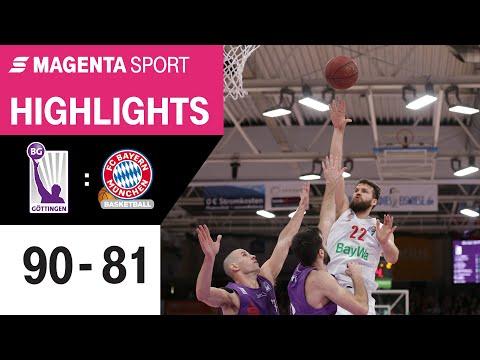 BG Göttingen – FC Bayern Basketball | 20. Spieltag, 2019/2020 | MAGENTA SPORT