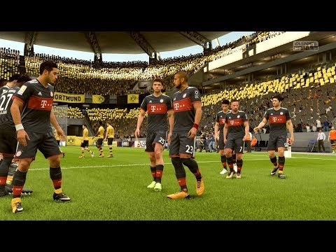 FIFA 18 | Borussia Dortmund vs Bayern Munich – Full Gameplay (PS4/Xbox One)