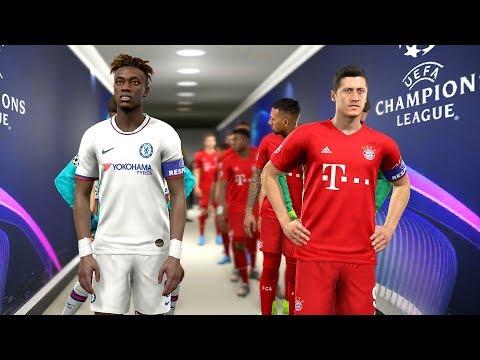 Bayern Munich vs Chelsea – Champions League 2019/20 Gameplay