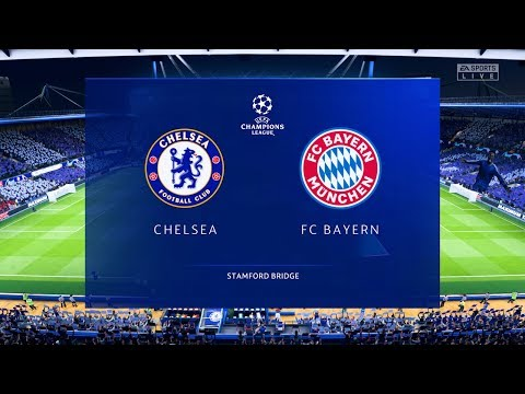 FIFA 20 Prediction | Chelsea vs Bayern Munich – UCL Ro16