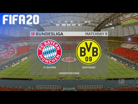 FIFA 20 – FC Bayern München vs. Borussia Dortmund @ Sanderson Park
