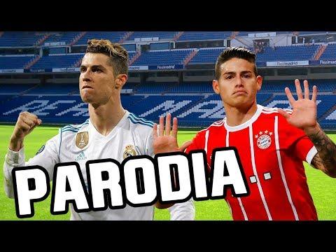 Canción Real Madrid vs Bayern Munich (Parodia Maluma – El Préstamo) 2-2 RESUBIDO