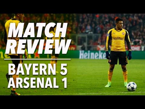 Bayern Munich 5-1 Arsenal | Champions League | Match Review