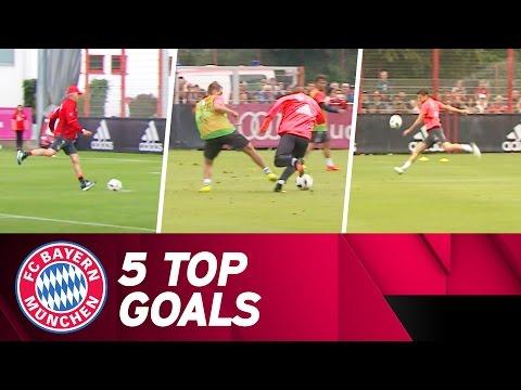 Top 5 Goals of the Pre-Season | 2016/17 Season