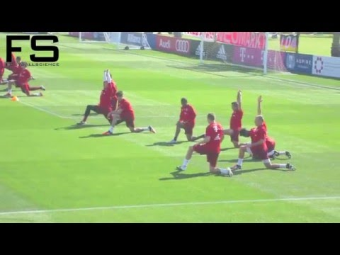 FC Bayern Winter Training Camp Doha 2016