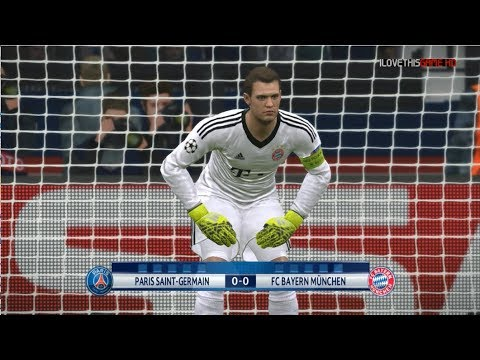 PSG vs Bayern Munchen I Uefa Champions League 2017/18 I Penalty SHootout