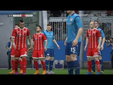 FIFA : Bundesliga 2017/18 : FC Bayern München – Bayer 04 Leverkusen : 2. Halbzeit
