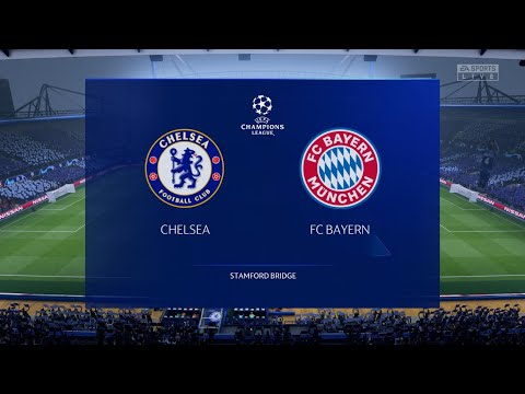 FIFA 20 : Champions League | FC Bayern vs Chelsea -25 -2-2020