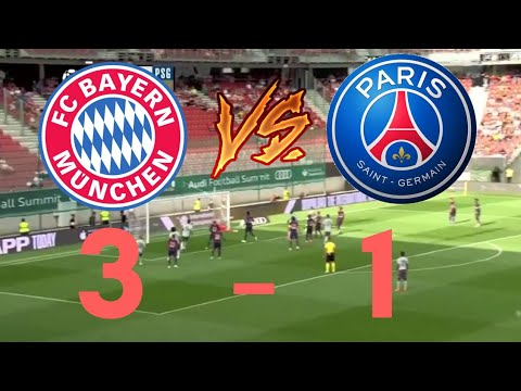Highlights  Bayern – Psg 3 – 1 HD All Goals 21/07/2018 –  International Championship Cup