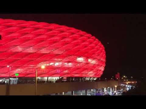 FC Bayern München vs Paris SG – LIVE an der Allianz Arena vor dem Spiel