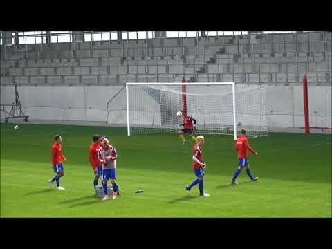 Aufwärmen Goalkeeper im FC Bayern Campus 17.09.2017 #NiklasPfister U19