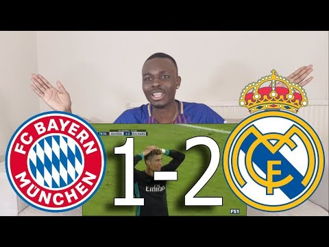 Barcelona Fan Reacts To ● Bayern Munich VS Real Madrid 1-2 All Goals