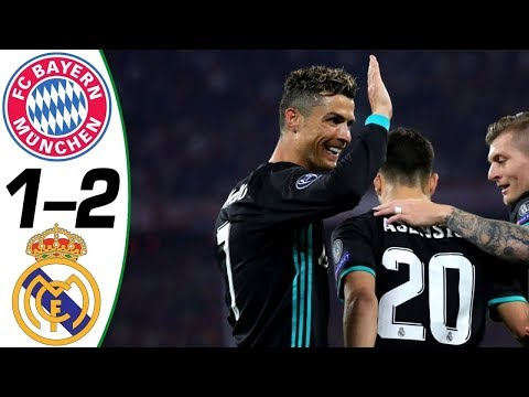 Bayern Vs Real Madrid 1 – 2 Champions League 25.04.2018