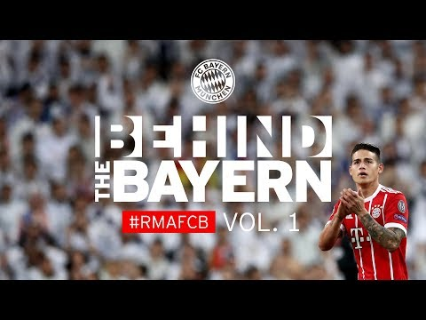 With FC Bayern on the way to Real Madrid | Behind the Bayern #1