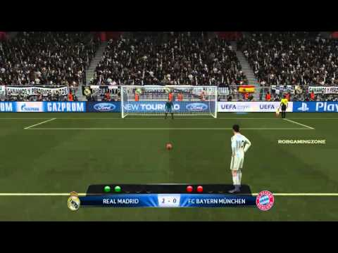 PES 2014 Penalty shootout   REAL MADRID vs FC BAYERNMUNCHEN PC GAMEPLAY