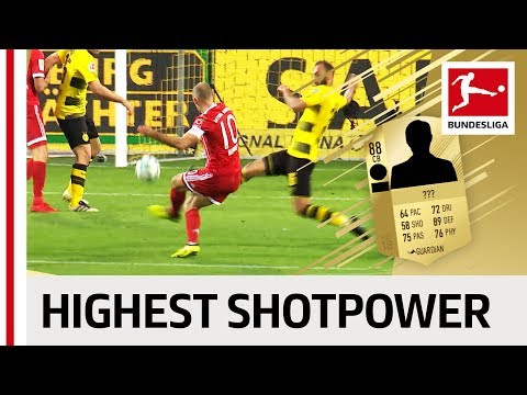 EA SPORTS FIFA 18 – Top 10 Players with Highest Shotpower: Reus, James Rodriguez & More