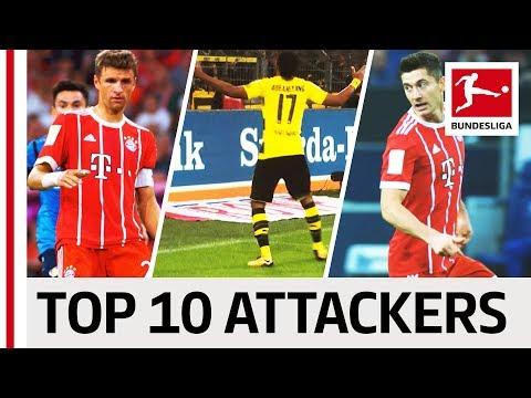 EA SPORTS FIFA 18 – Top 10 Attackers: Aubameyang, Lewandowski & More