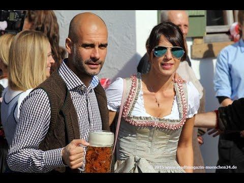 FC Bayern Oktoberfest-Besuch 2015 Käfer's Wiesnschänke