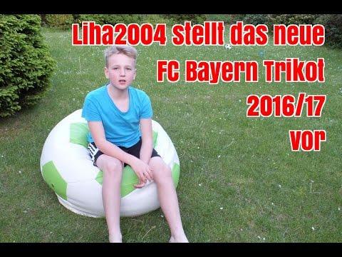 Das neue FC Bayern Trikot 2016/17 – vorgestellt von Liha2004