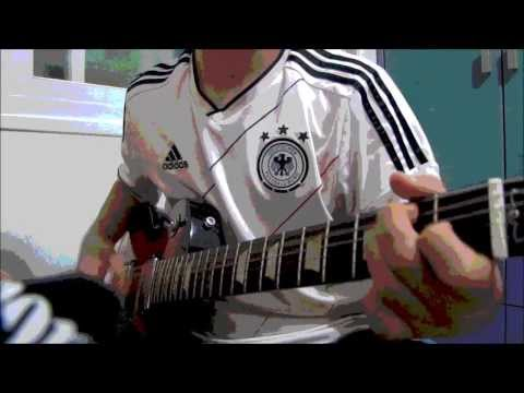 Fc Bayern   -Stern Des Sudens-   Guitar Cover