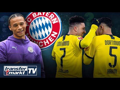 Sané will weiterhin zum FC Bayern – BVB kämpft um Sancho & Hakimi | TRANSFERMARKT