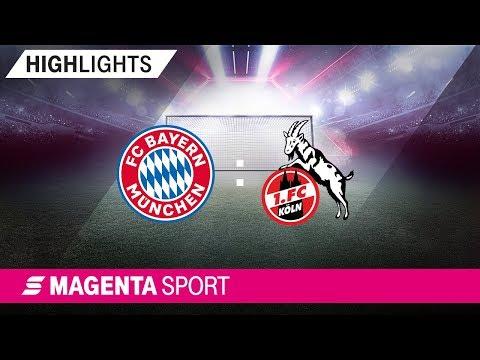 FC Bayern München – 1. FC Köln | 9. Spieltag, 19/20 | MAGENTA SPORT