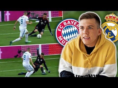 Sven Ulreich Patzer | Real Madrid vs Bayern München | (Fehleranalyse)