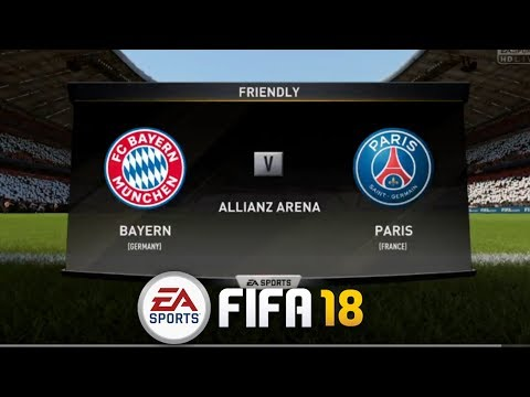 Bayern Vs PSG,International Championship Cup – II FIFA 18 II Live PS4 Gameplay
