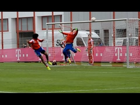 Heinz Müller – The next Manuel Neuer? • Two incredible Saves • FC Bayern Munich