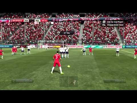 FIFA 12 H2H DIVISION 1 BAYERN VS REAL MADRID
