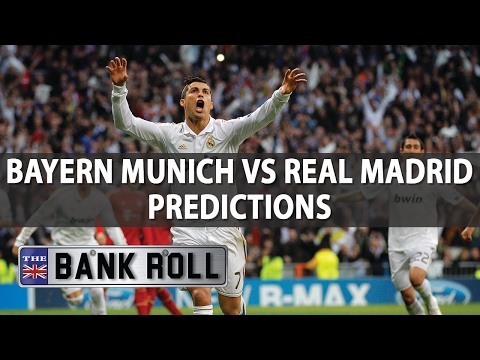 Bayern Munich vs Real Madrid | Champions League Match Predictions | Wed 12th April