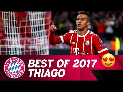 Thiago | Best Goals and Skills 2017 🔴⚪ | FC Bayern