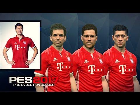 PES 2017 | Bayern Munchen Correct Faces