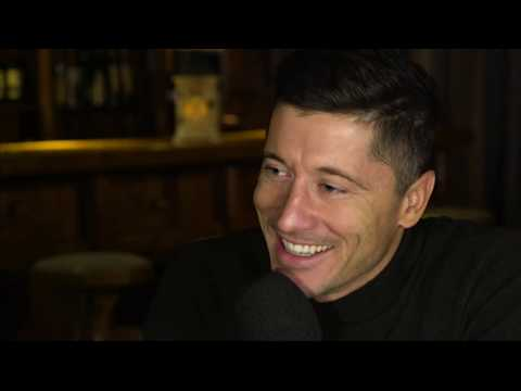 Robert Lewandowski Bayern Munich on BBC World News Sport