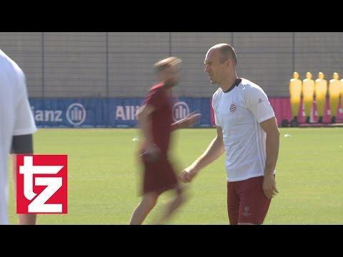 FC Bayern vs. Hertha BSC:  Boateng und Robben fit fürs Topspiel