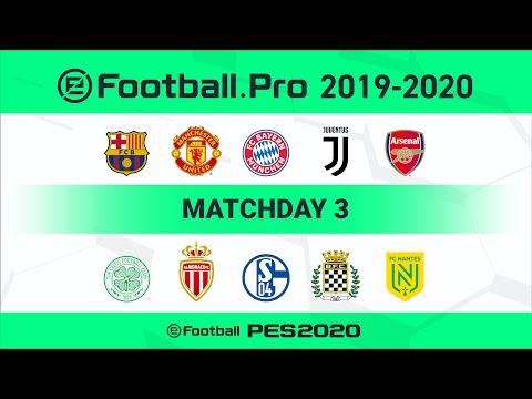 PES   FC Bayern München VS FC Schalke 04 (Featured Match)   eFootball.Pro 2019-2020 #3 Full Matches