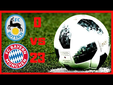 👉⚽Rottach Egern vs Bayer Múnich 0-23•Highlights & goals 08/08/2019•Match friendly•Resumen y goles.