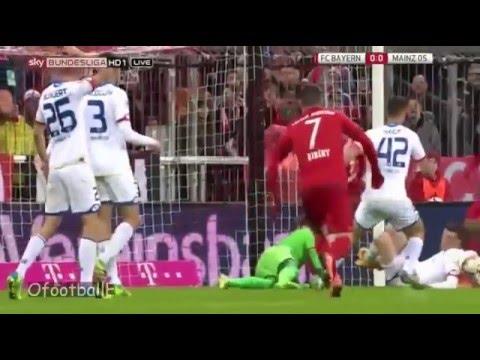 Fc Bayern München vs Fsv Mainz 05 full highlights video: 02-03-2016 HD