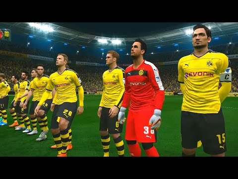 PES 2016 (Borussia Dortmund vs FC Bayern Munich Gameplay)