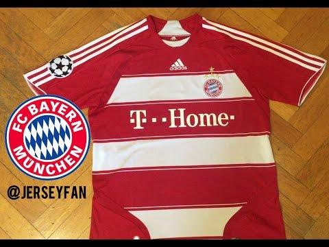 Adidas FC Bayern Munchen | Jersey 2008-2009 Review HD