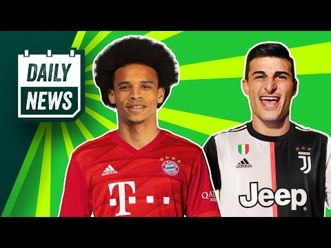 Bayern still want Sane + BIG Juventus transfer mistake! ► Daily News