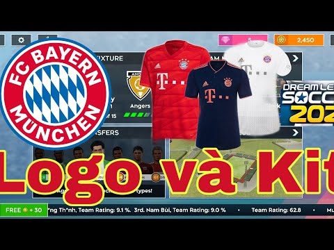 Kit and Logo in Dream League Soccer 2020 | BAYERN MUNCHEN | Kit và Logo DLS 2020