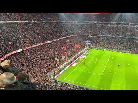 Bayern Munich Fans Reaction To 3rd Goal Vs Dortmund