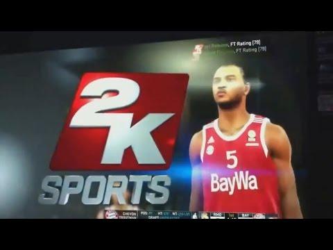 NBA 2K15 Euroleague Real Madrid vs. Bayern München