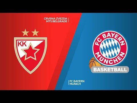 Crvena Zvezda mts Belgrade – FC Bayern Munich Highlights | Turkish Airlines EuroLeague, RS Round 17