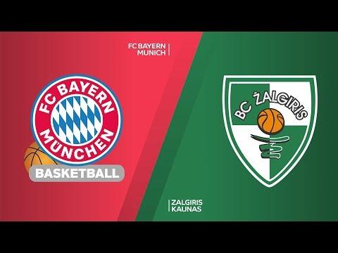 FC Bayern Munich – Zalgiris Kaunas Highlights | EuroLeague, RS Round 16