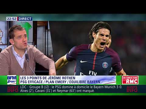 After Foot du mercredi 27/09 – Partie 1/4 – Débrief de PSG/Bayern (3-0)